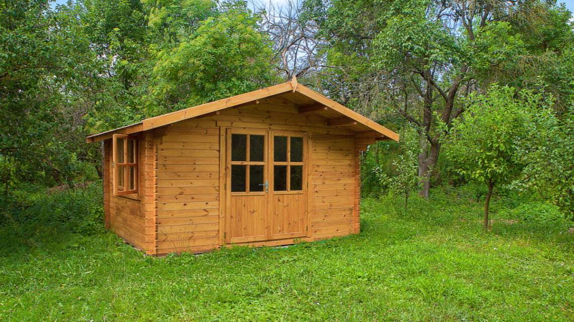 Efficiënte tuinindeling? Met vijf- en achthoekige tuinhuisjes wel!
